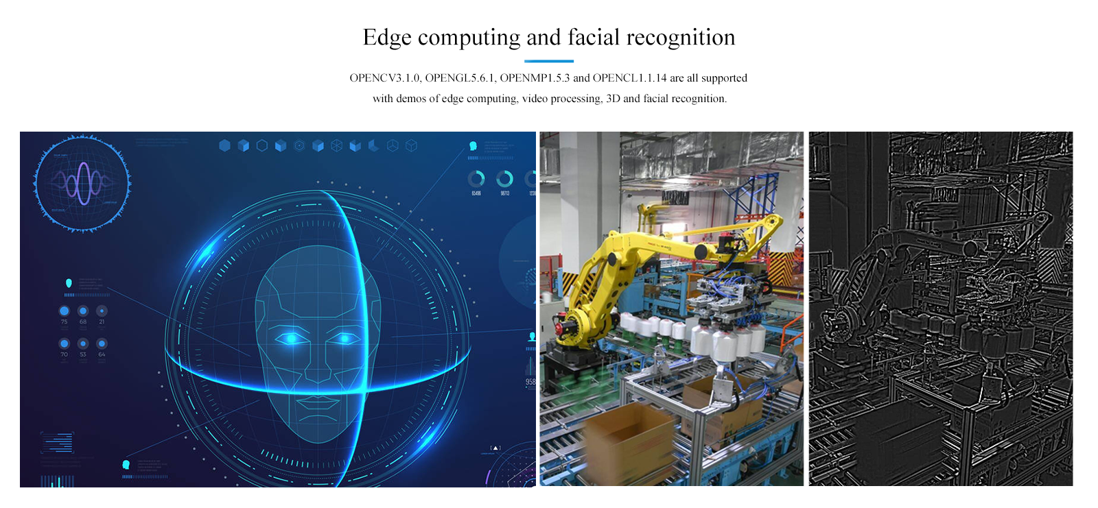 edge computing facial recognition