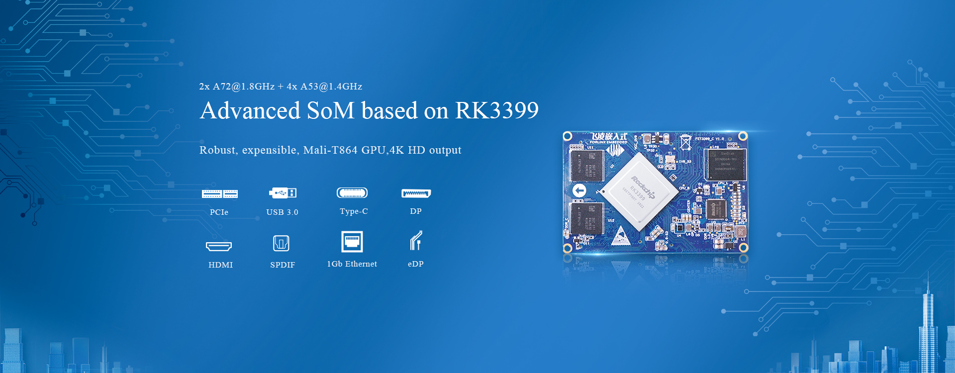 RK3399 system on module